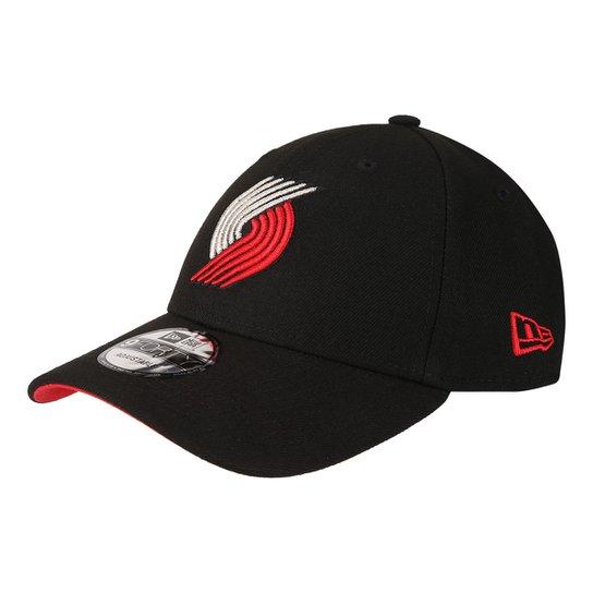 Boné New Era NBA Portland Trail Blazers Aba Curva Primary - Compre ... 8718da9489b