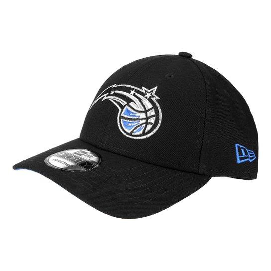 09b9778537 Boné New Era NBA Orlando Magic Aba Curva 940 SN Primary Otc - Preto ...