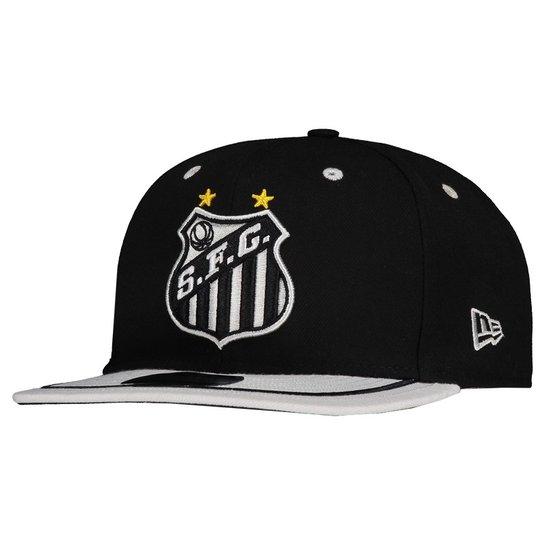 Boné New Era Santos 950 Masculino - Preto - Compre Agora  d26bf3d697f