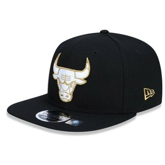 22a0bf4dacb80 Boné Chicago Bulls 950 Gold City NBA New Era