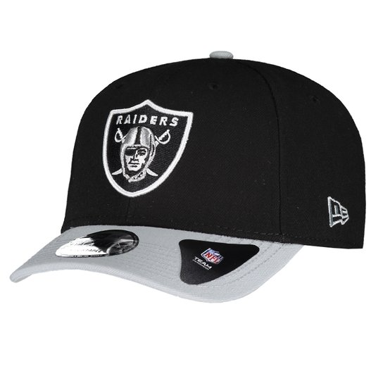 Boné Oakland Raiders 940 NFL New Era Masculino - Preto - Compre ... 01dad804cb3