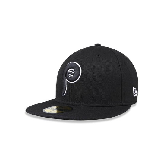 Bone 5950 New Era Philadelphia Phillies MLB Aba Reta - Compre Agora ... 4e989ea6404