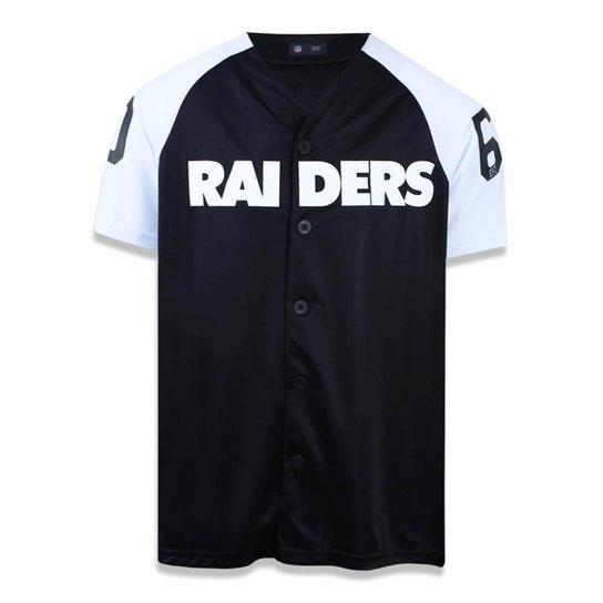 Camisa Oakland Raiders NFL New Era Masculina - Compre Agora  83f24ecc1c3