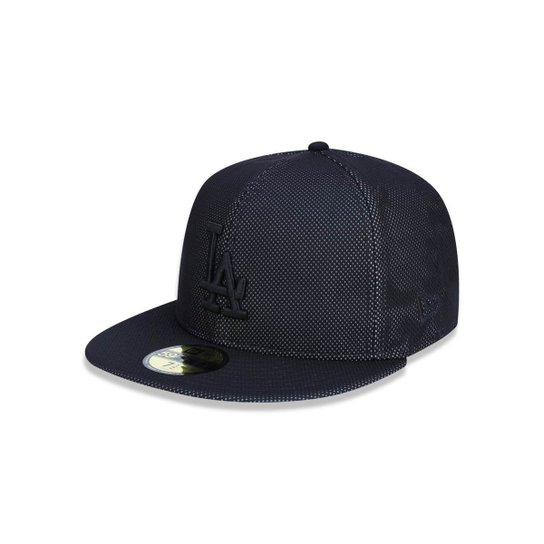 Boné 5950 Los Angeles Dodgers MLB Aba Reta New Era - Preto - Compre ... 9e5f7093549