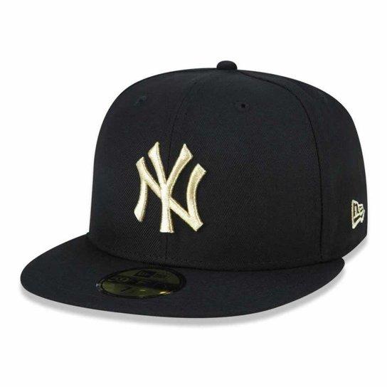 Boné 5950 New York Yankees MLB Aba Reta New Era - Compre Agora ... 0f77fb93bfb