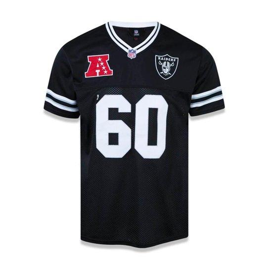 Camiseta Oakland Raiders NFL New Era Masculina - Preto - Compre ... 0e9c4241f79ba
