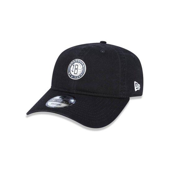 Boné 2920 Brooklyn Nets NBA Aba Curva New Era - Compre Agora  01ac2de4b40