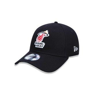Boné 3930 Miami Heat NBA Aba Curva New Era 31a44e45d81