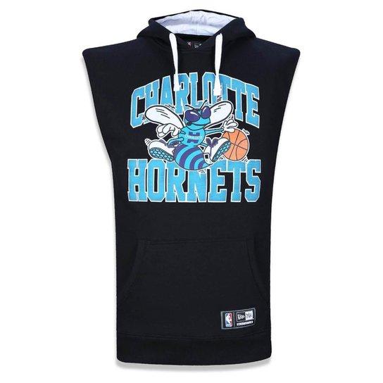 4c6f02b37 Colete Charlotte Hornets NBA New Era Masculino - Compre Agora