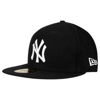 78aec63cc3fc8 Boné 5950 New York Yankees MLB Aba Reta New Era