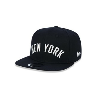 Boné 950 Original Fit New York Yankees MLB Aba Reta Snapback New Era 82dfea22fd1