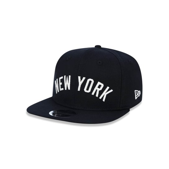 Boné 950 Original Fit New York Yankees MLB Aba Reta Snapback New Era - Preto 0bde4abc781