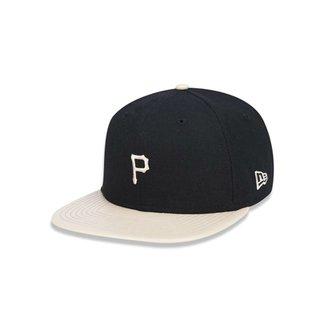 Boné 950 Original Fit Pittsburgh Pirates MLB Aba Reta Snapback New Era 99f803e6506