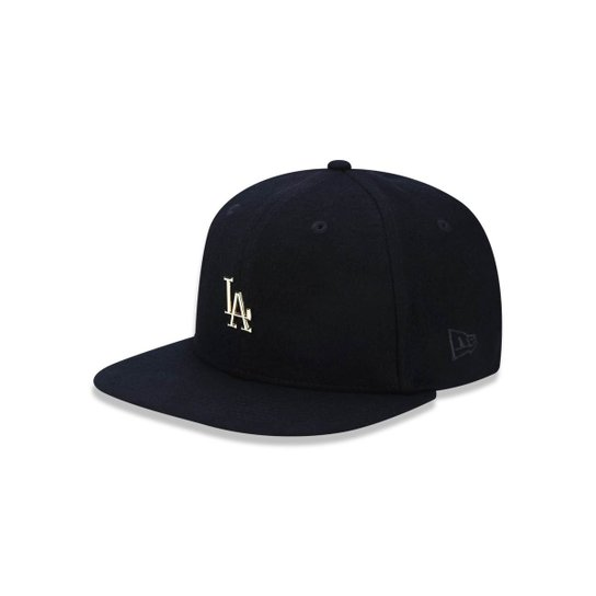 Boné 950 Original Fit Los Angeles Dodgers MLB Aba Reta Snapback New Era -  Preto 8a074b96cce