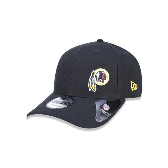 Boné 940 Washington Redskins NFL Aba Curva Snapback New Era - Preto ... 79b395a9e10