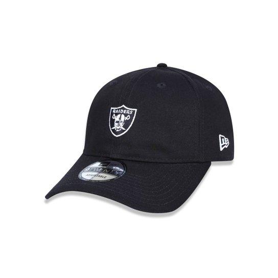 bb8282bf1 Boné 920 Oakland Raiders NFL Aba Curva Strapback New Era - Compre ...