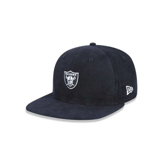 b49d5dbd529c6 Boné 950 A-frame Oakland Raiders NFL Aba Reta Strapback New Era