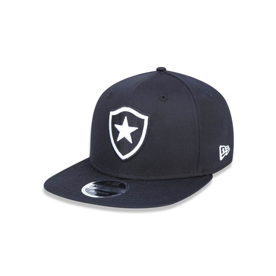 Boné 950 Original Fit Botafogo Futebol Aba Reta Snapback New Era - Preto b6db63b8286
