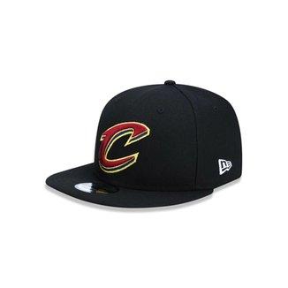 Boné 950 Cleveland Cavaliers NBA Aba Reta Snapback New Era c3db2b9c0a3a