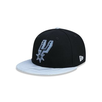 Boné 950 San Antonio Spurs NBA Aba Reta New Era 92e994ec42e