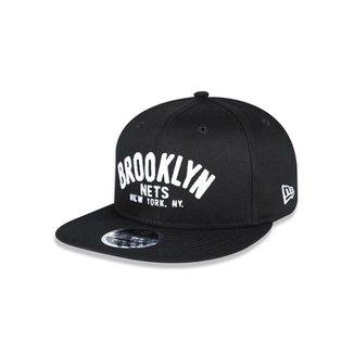 Boné 950 Original Fit Brooklyn Nets NBA Aba Reta Snapback New Era 062d7452cf6