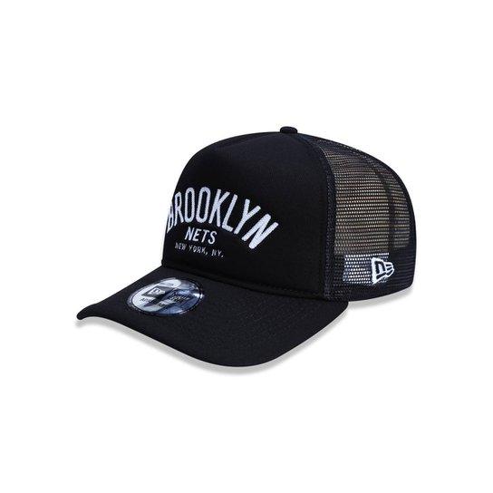 ca53c17a0 Boné 940 A-frame Brooklyn Nets NBA Aba Curva New Era - Compre Agora ...