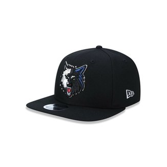 Boné 950 Original Fit Minnesota Timberwolves NBA Aba Reta Snapback New Era 69ec9696aff