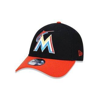 Boné 940 Miami Marlins MLB Aba Curva Snapback New Era 8ca520a0fb9