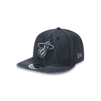 Boné 950 Original Fit Miami Heat NBA Aba Reta Snapback New Era 284ba3c35ae