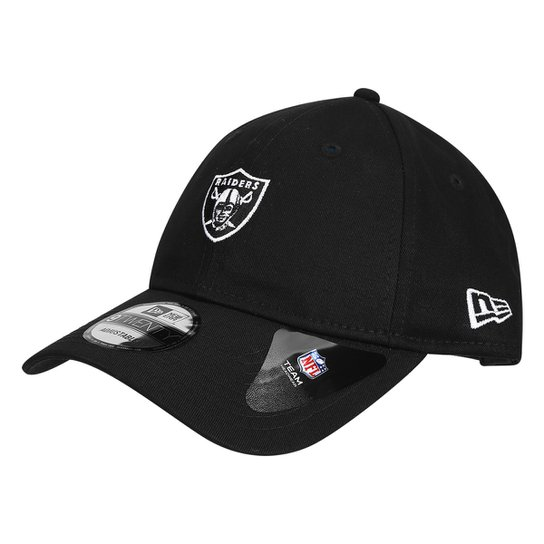 Boné New Era NFL Oakland Raiders Aba Curva 920 St Military Camo Abstract -  Preto a0b93b4aa0c