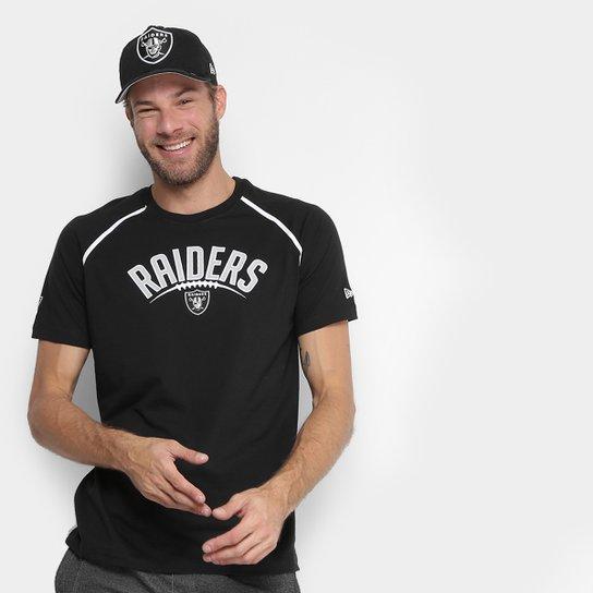 Camiseta NFL Oakland Raiders New Era Letter Sport Masculina - Compre ... f5e70e442ae