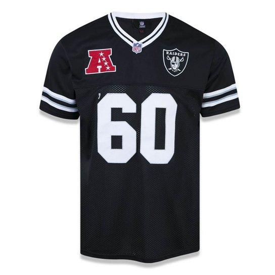 Camiseta Jersey Oakland Raiders Sports Vein - New Era - Preto ... eaffff55490
