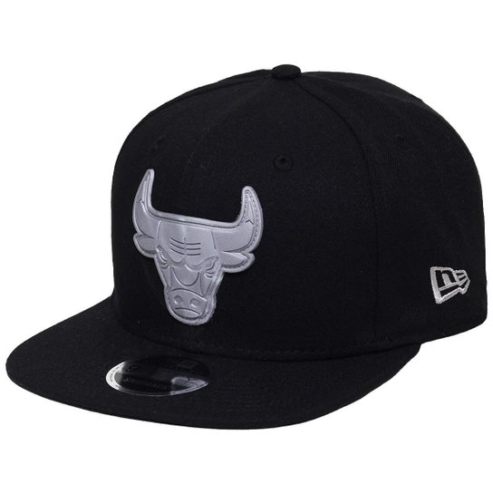 68c1aa067f Boné New Era Aba Reta Snapback Nba Chicago Bulls R - Compre Agora ...