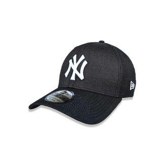 75f0332a1 Boné 3930 New York Yankees MLB Aba Curva New Era
