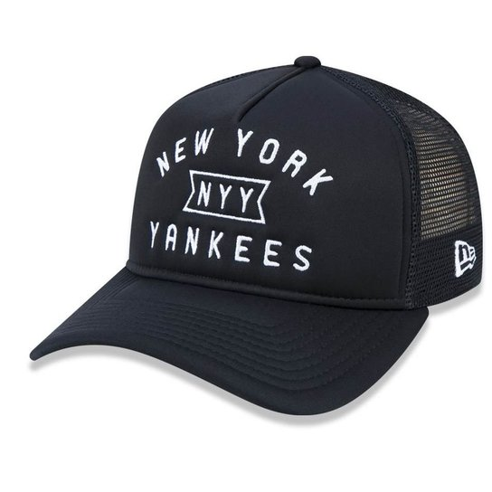 ade802318 Boné New York Yankees 940 A-frame Core Trucker - New Era - Compre ...
