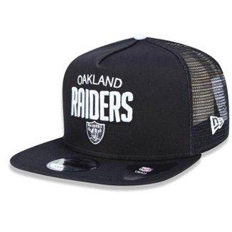 Boné Oakland Raiders 950 A-Frame Trucker Sports - New Era c55a374ad21