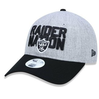 31842cf1fff41 Boné Oakland Raiders 920  RaiderNation DRAFT 2018 - New Era