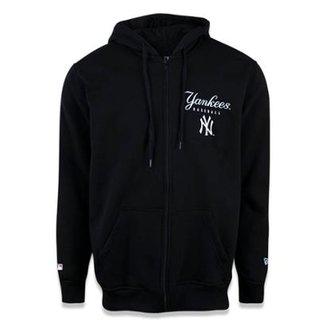 179da10273 Moletom Canguru Aberto New York Yankees MLB New Era Masculino