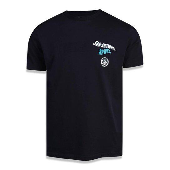 3913eee25 Camiseta San Antonio Spurs NBA New Era Masculina - Preto - Compre ...