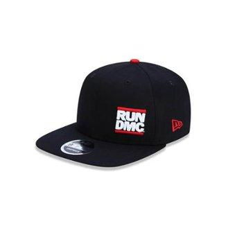 0d5e8c57e2 Boné 950 Of Run Dmc Tipo Aba Reta Snapback New Era