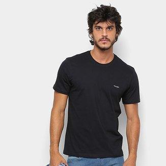 ac0598a470 Camiseta Wrangler Básica Bordada Logo Masculina