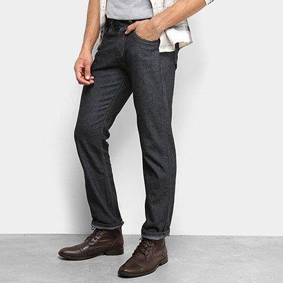 Calça Jeans Reta RockBlue Básica Tradicional Masculina