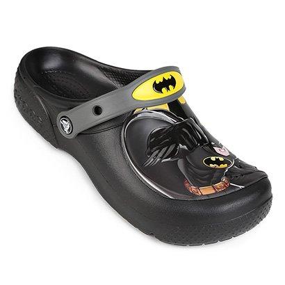 Sandália Crocs Batman Clog Masculina
