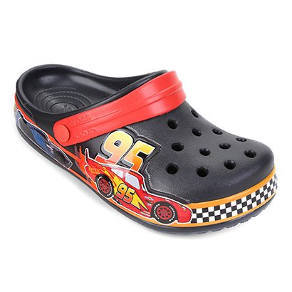 Crocs Infantil Disney Cars And Relâmpago Mcqueen