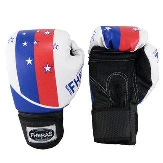 ecd38e44a Kit Boxe Muay Thai Fheras Top - Luva Bandagem Bucal Caneleira Shorts