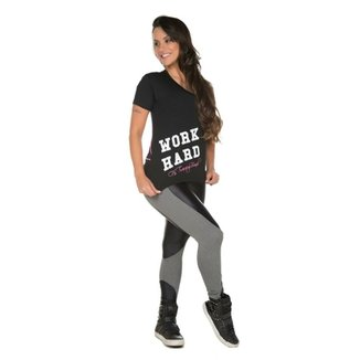 2f504c7509d28 Camiseta Fit Training Brasil Scissor Feminina