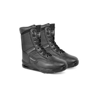 b81b0d2c8 Coturno Tatico Couro Pedigree Militar Trecking Modelo Exportação