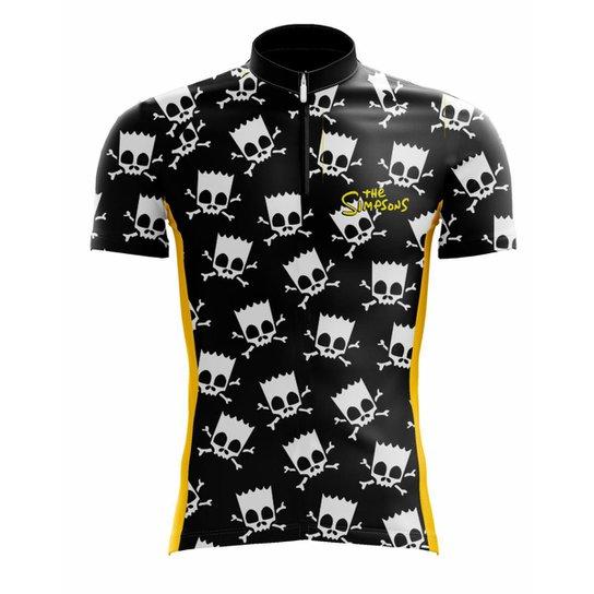 Camisa Scape Bart Rock Masculina - Preto - Compre Agora  6692726e41855