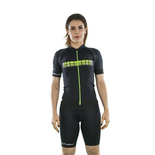 Camisa Ahau Racing Neon Feminina - Compre Agora  49c6a86399c