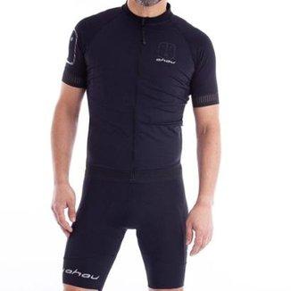 Camisa Ahau Masculina Black Tie New Ciclismo 90e9df6ffc043